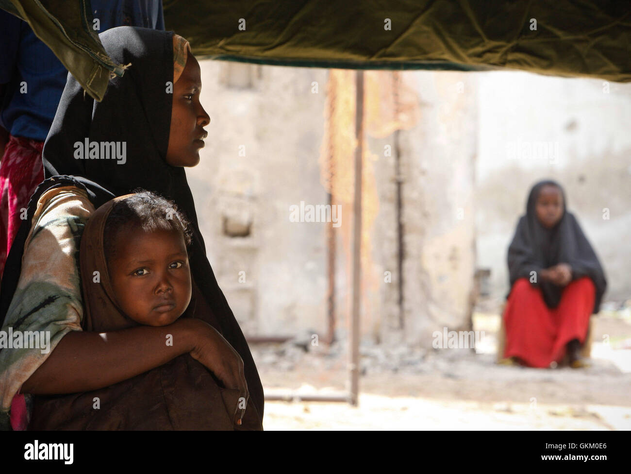 SOMALIA, Mogadishu: In a photograph dated 5 February and released by the African Union-United Nations Information Stock Photo