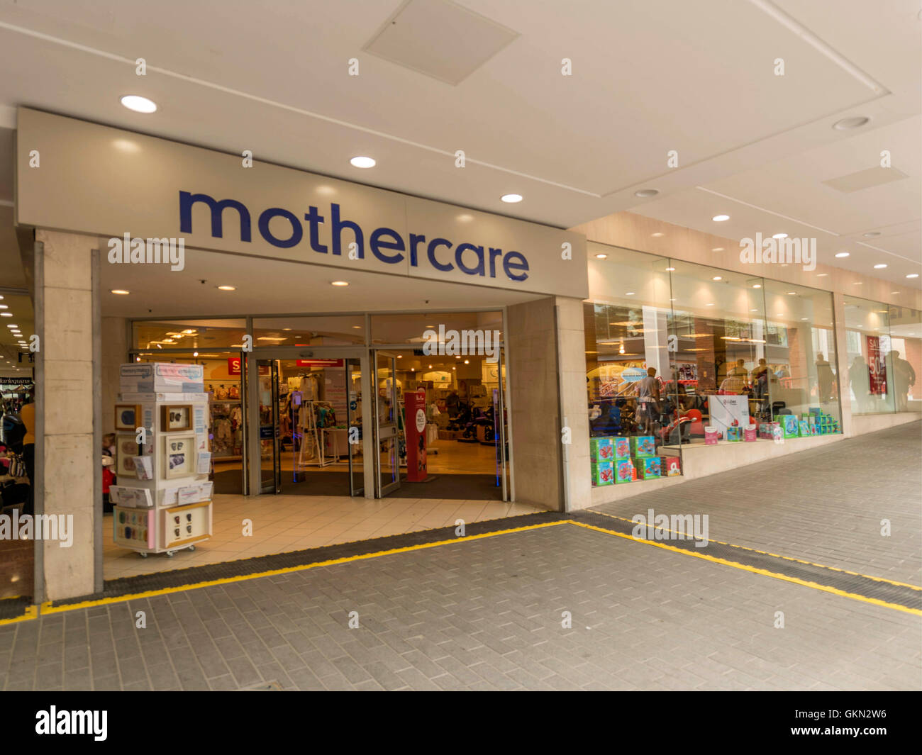 Mothercare Retail Outlet, Exeter City Centre, Devon - Stock Image