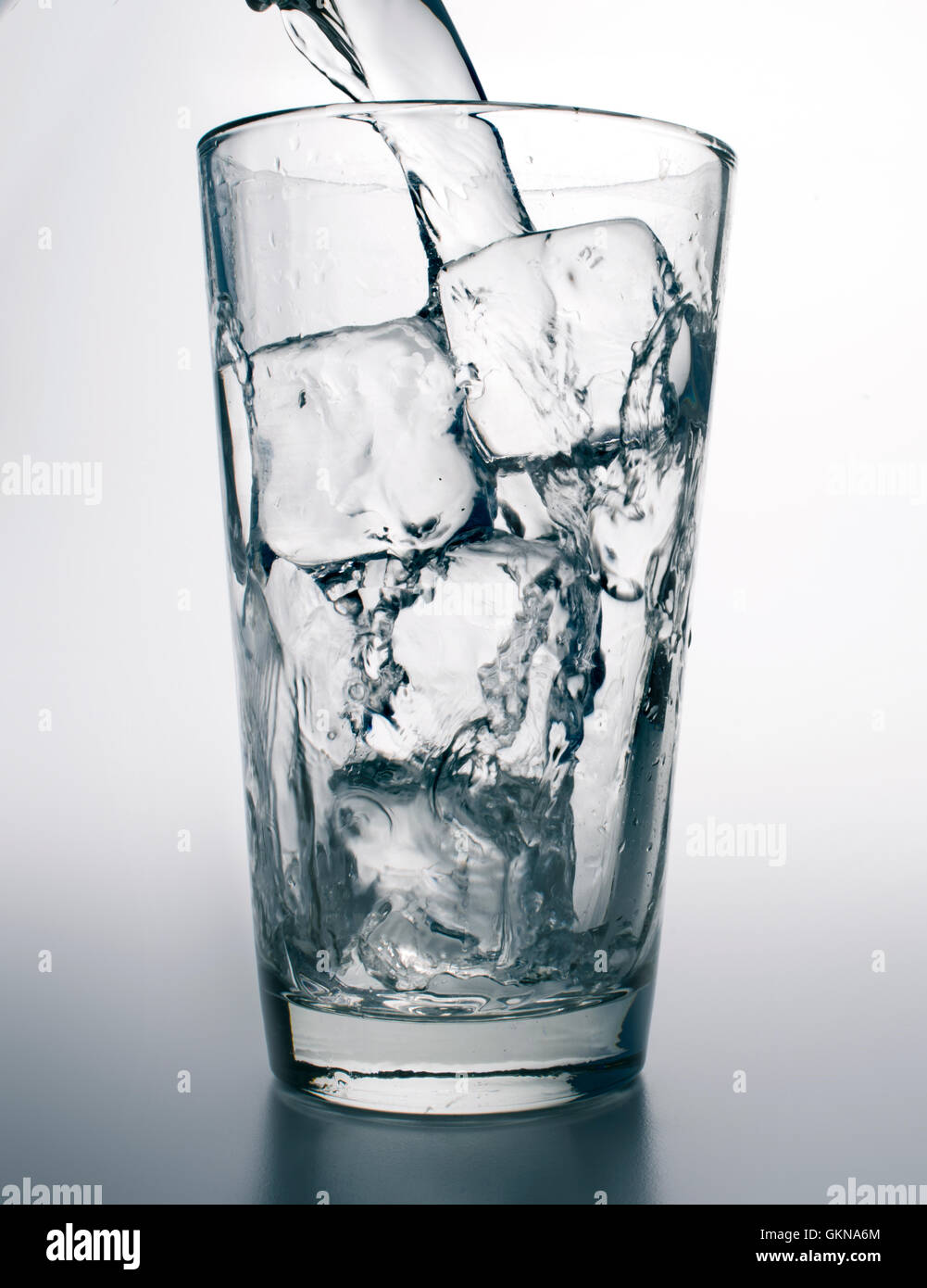 ice water - Stock Image