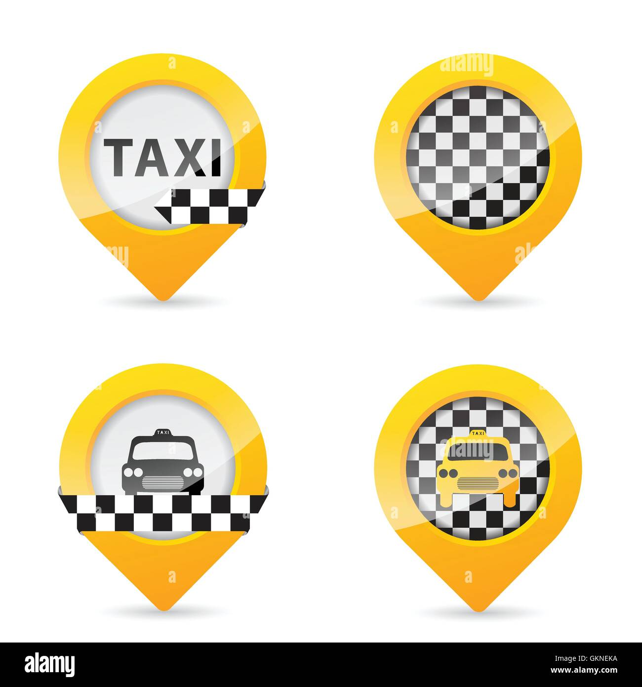 pointer taxi business dealings deal business transaction business bussiness work job labor Stock Vector