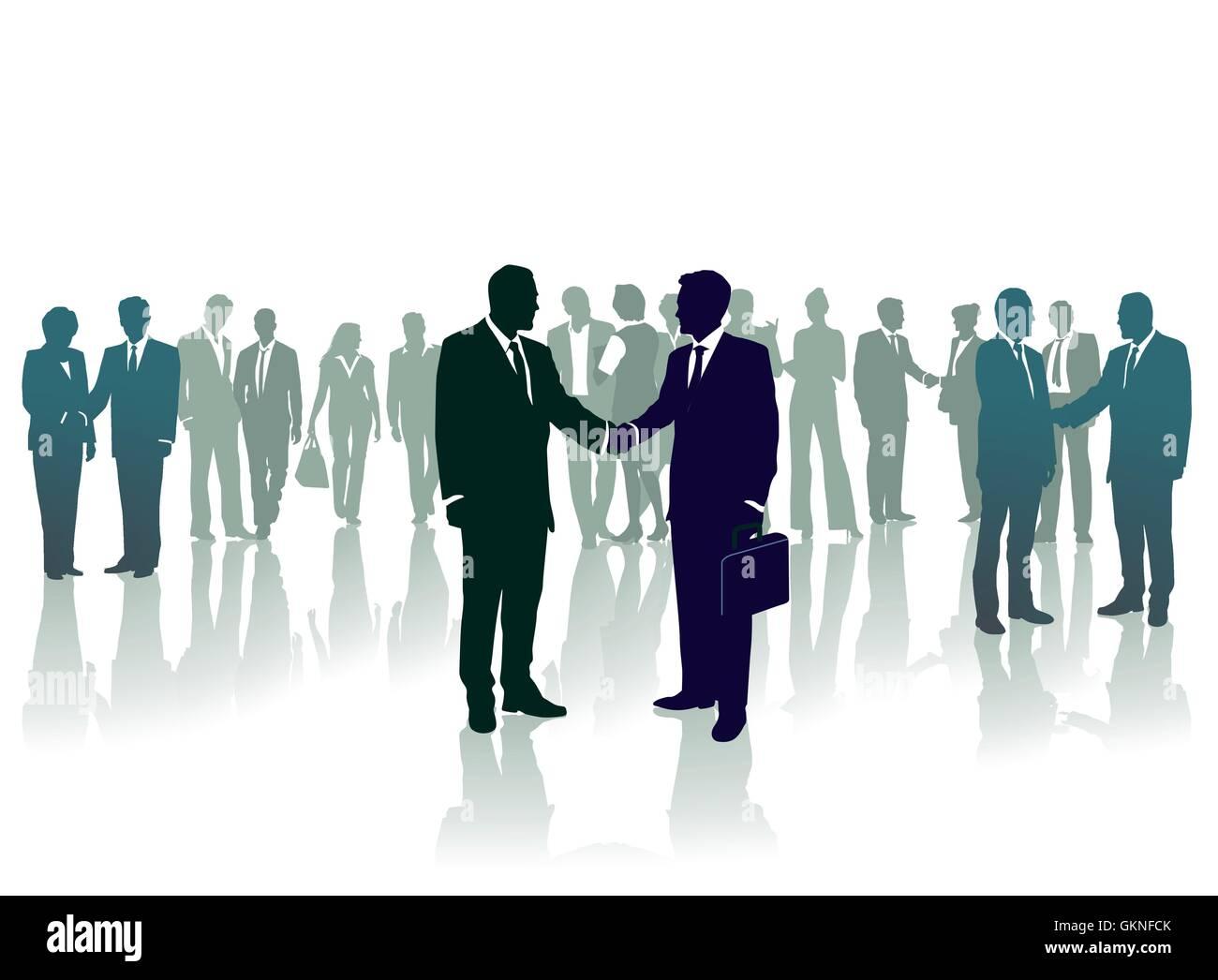 welcome talks - Stock Vector