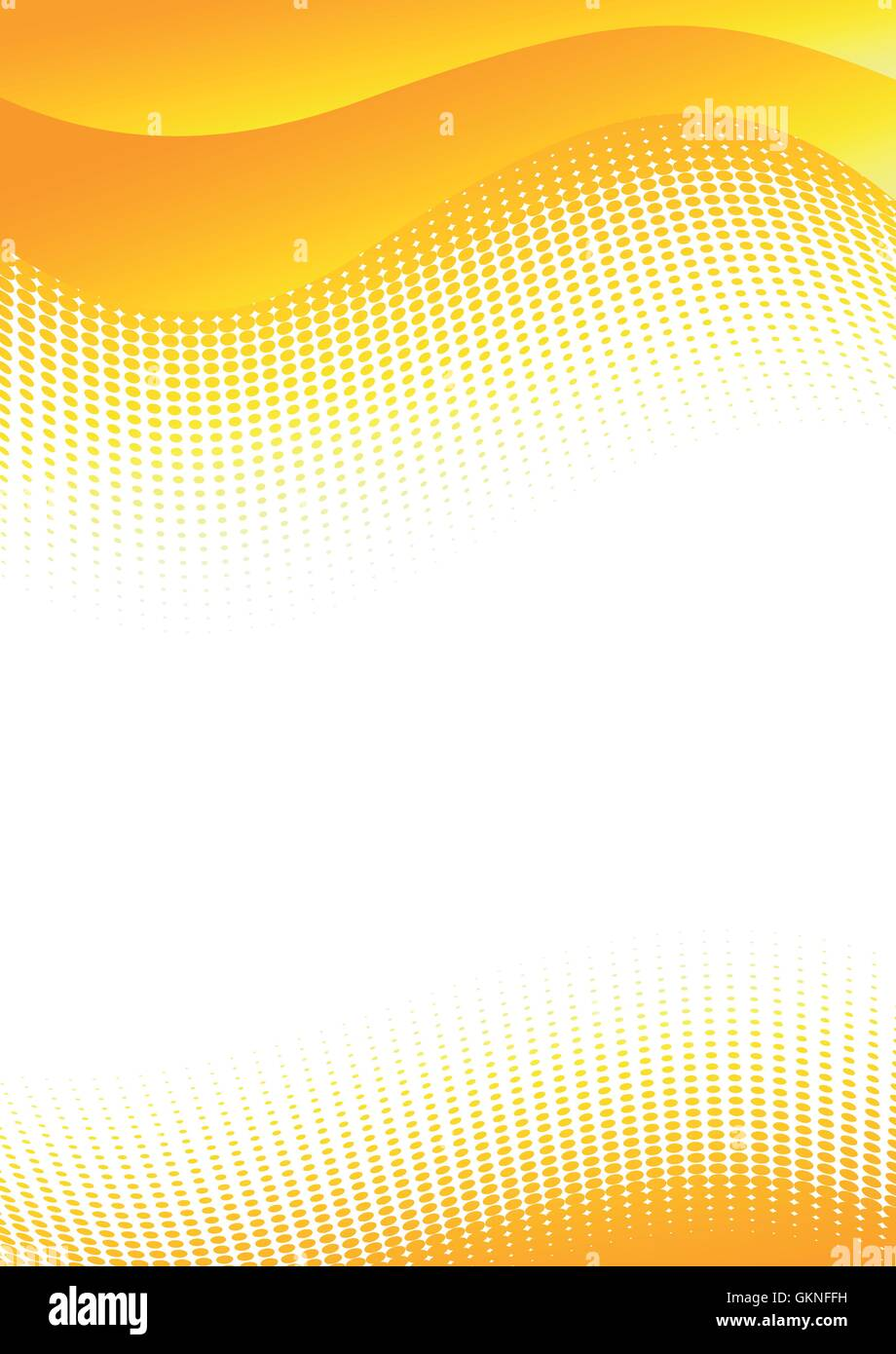 Dots Abstract Pattern Orange Vector Backdrop Background