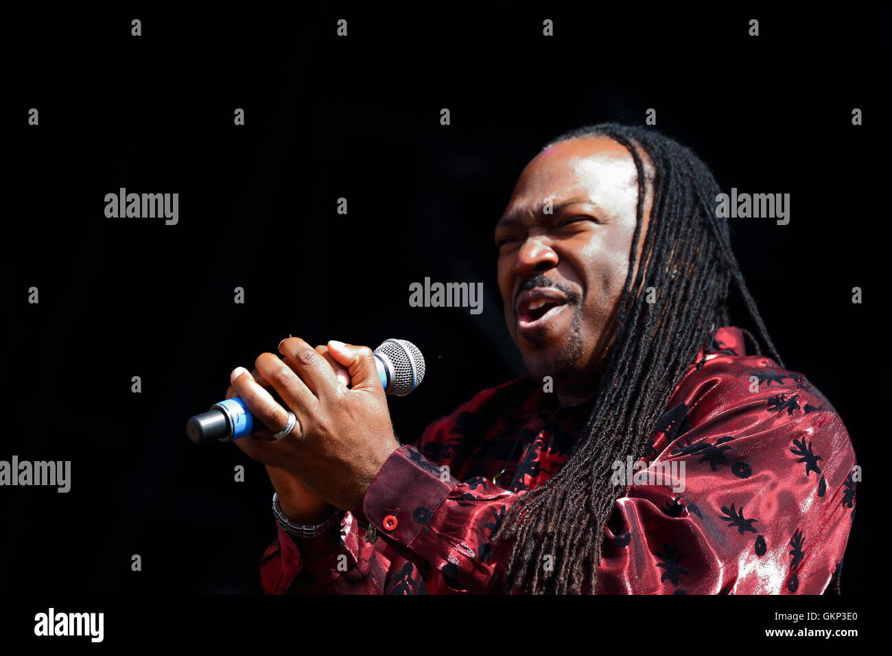 Rewind Festival, Henley-on-Thames, Oxfordshire, UK. The Earth, Wind & Fire Experience feat. The Al Mckay All - Stock Image