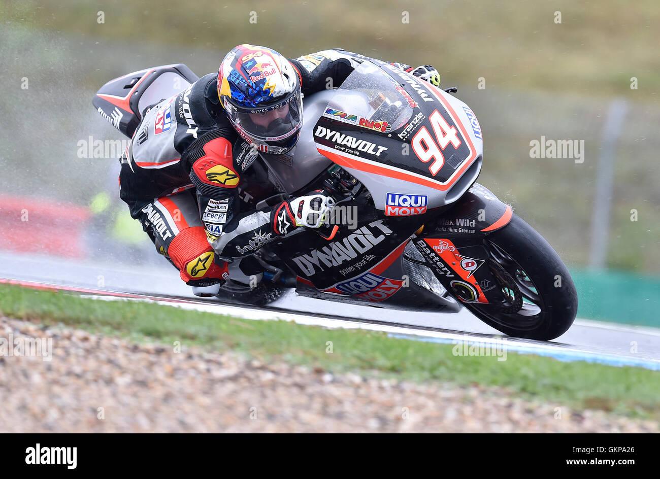 Brno, Czech Republic. 21st Aug, 2016. Grand Prix of the Czech Republic 2016, Moto2, Brno, Czech Republic, August - Stock Image