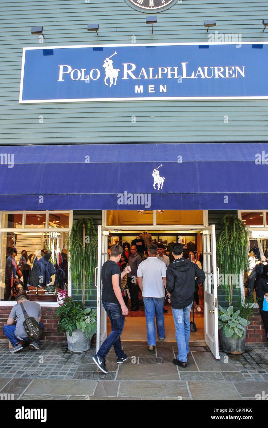 check out f92fc e8a91 Polo Ralph Lauren shop logo store Bicester village Stock ...