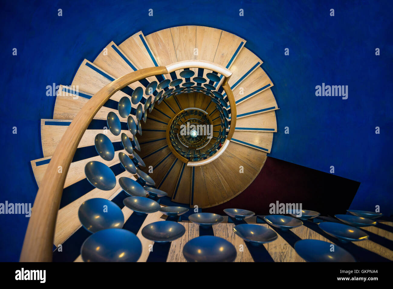 Staircase inside the magic circle london united kingdom stock staircase inside the magic circle london united kingdom publicscrutiny Gallery