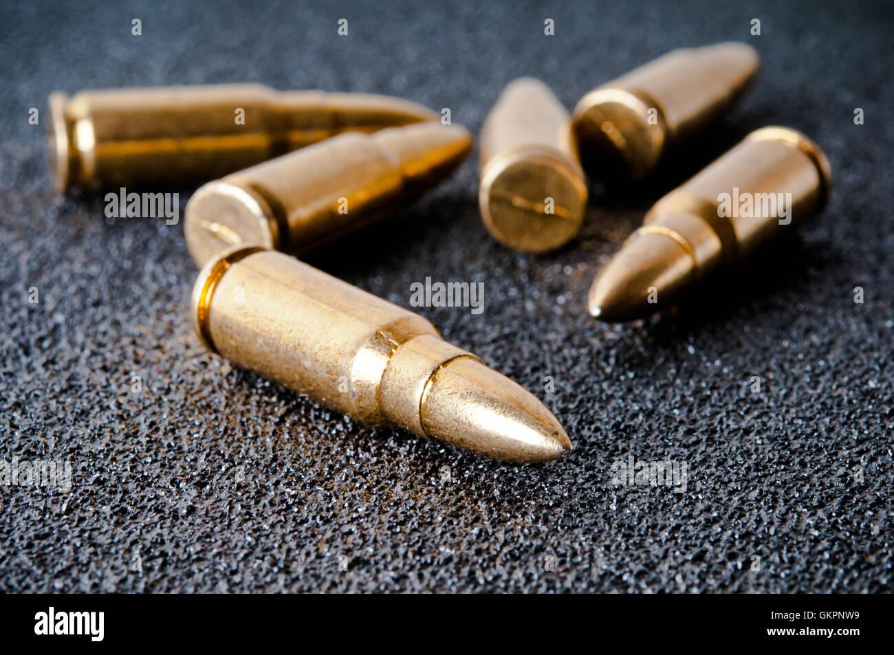 ammunition - Stock Image