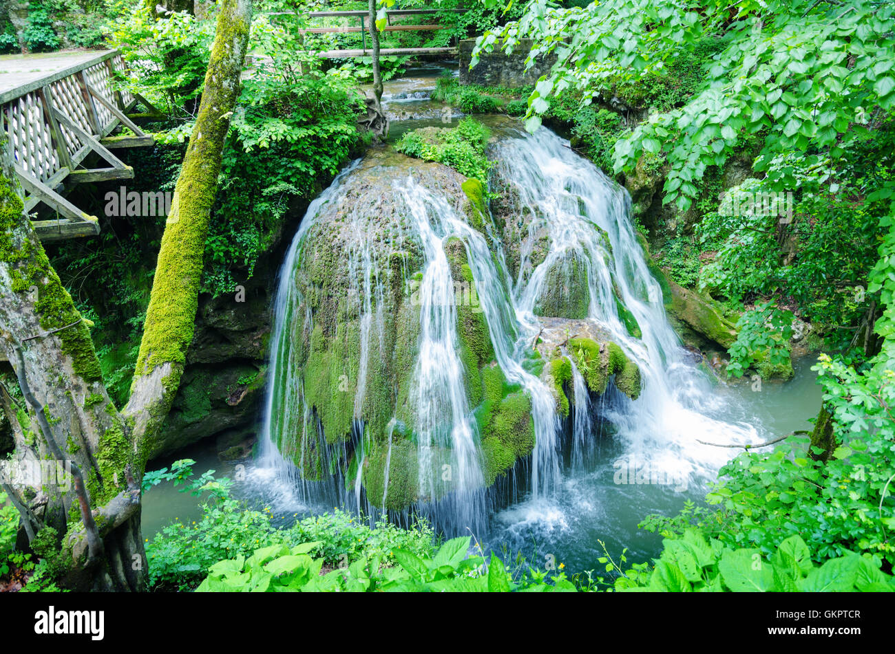 Waterfalls Bigar One Of The Most Beautiful In World Located Romania