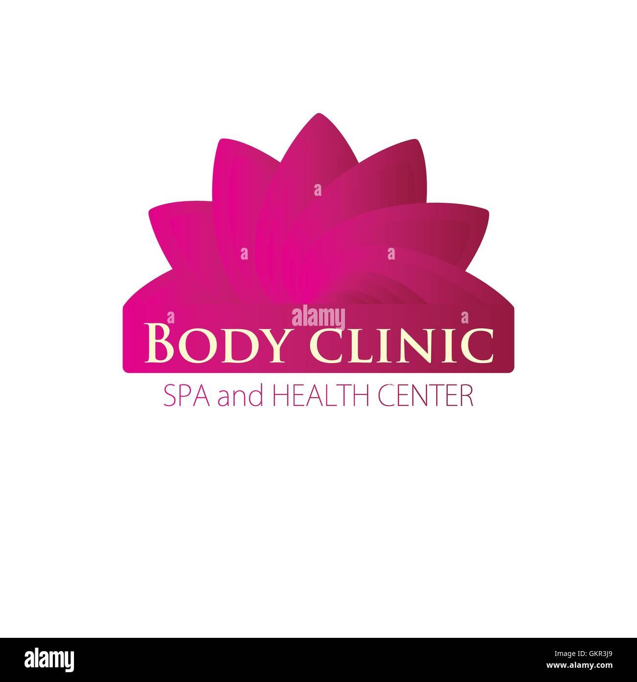 Medical Diagnostic Body Clinic Logo Stock Vector Image Art Alamy