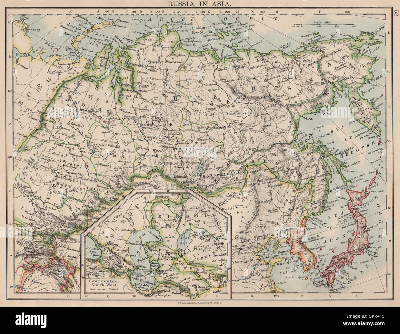RUSSIA IN ASIA. Shows Trans-Siberian railway under ... on northern europe map, bosnia map, south america map, baikal amur mainline, wales map, st thomas map, arctic ocean map, trans-siberian railway panorama, west siberian railway, brazil map, republic of georgia map, india map, orient express, cyprus map, central asia map, south africa map, central europe map, saint petersburg, ural mountains map, west africa map, greenland map, moscow map, caribbean cruise map, caucasus mountains map, russia map,