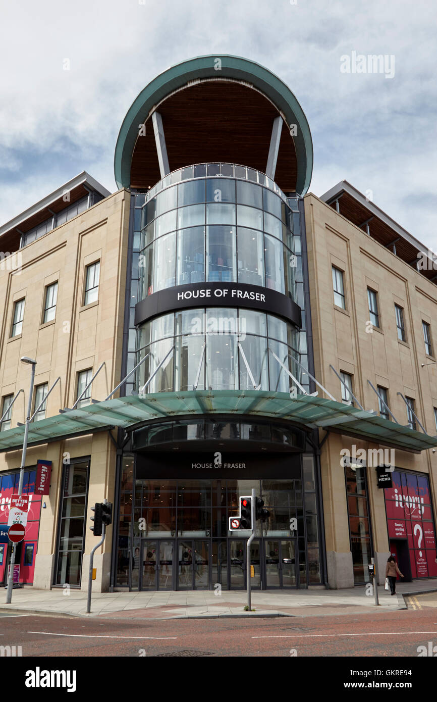 house of fraser in victoria square shopping centre belfast city centre - Stock Image