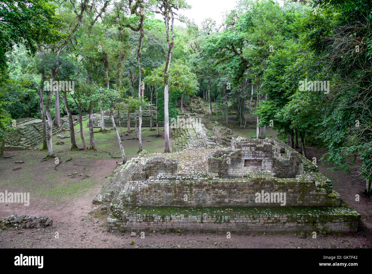 Copan, Honduras - Stock Image