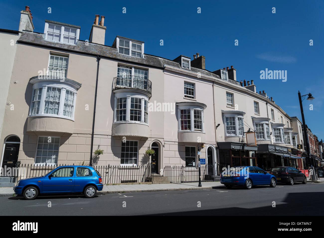 Oxford Street, Southampton, Hampshire, England, UK - Stock Image