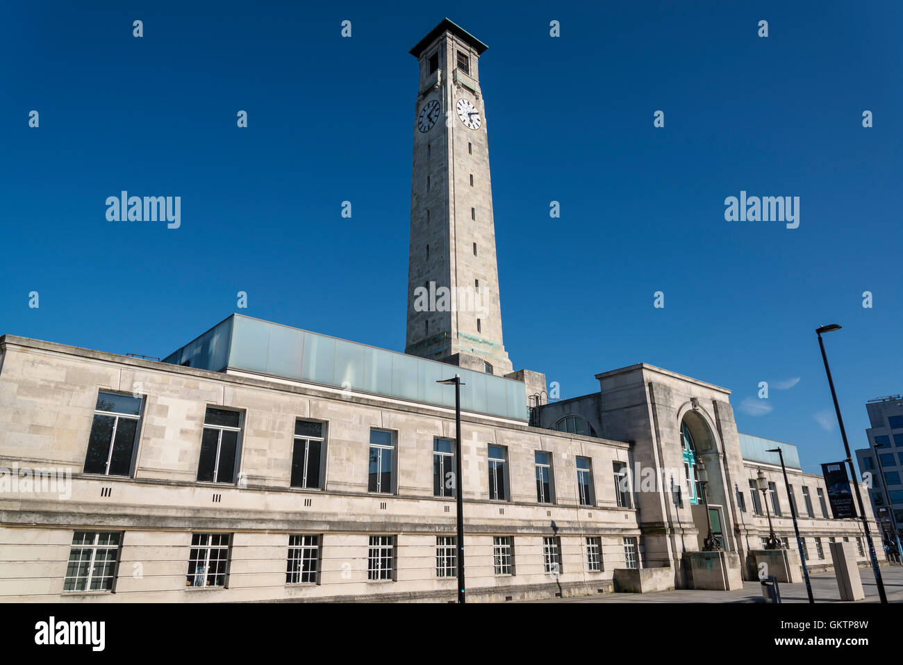 SeaCity Museum, Civic Centre, Southampton, Hampshire, England, UK - Stock Image