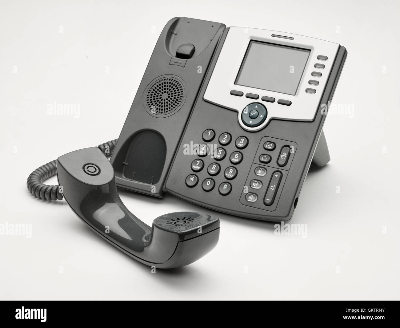 Old Office Phone - Stock Image
