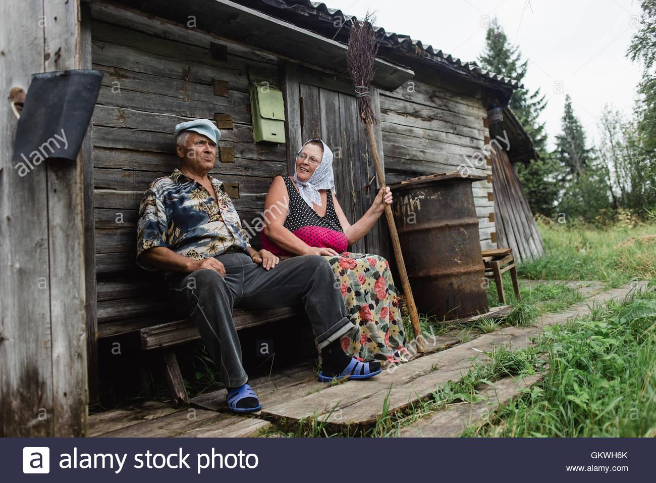 деревенские начальницы русские любят использовать
