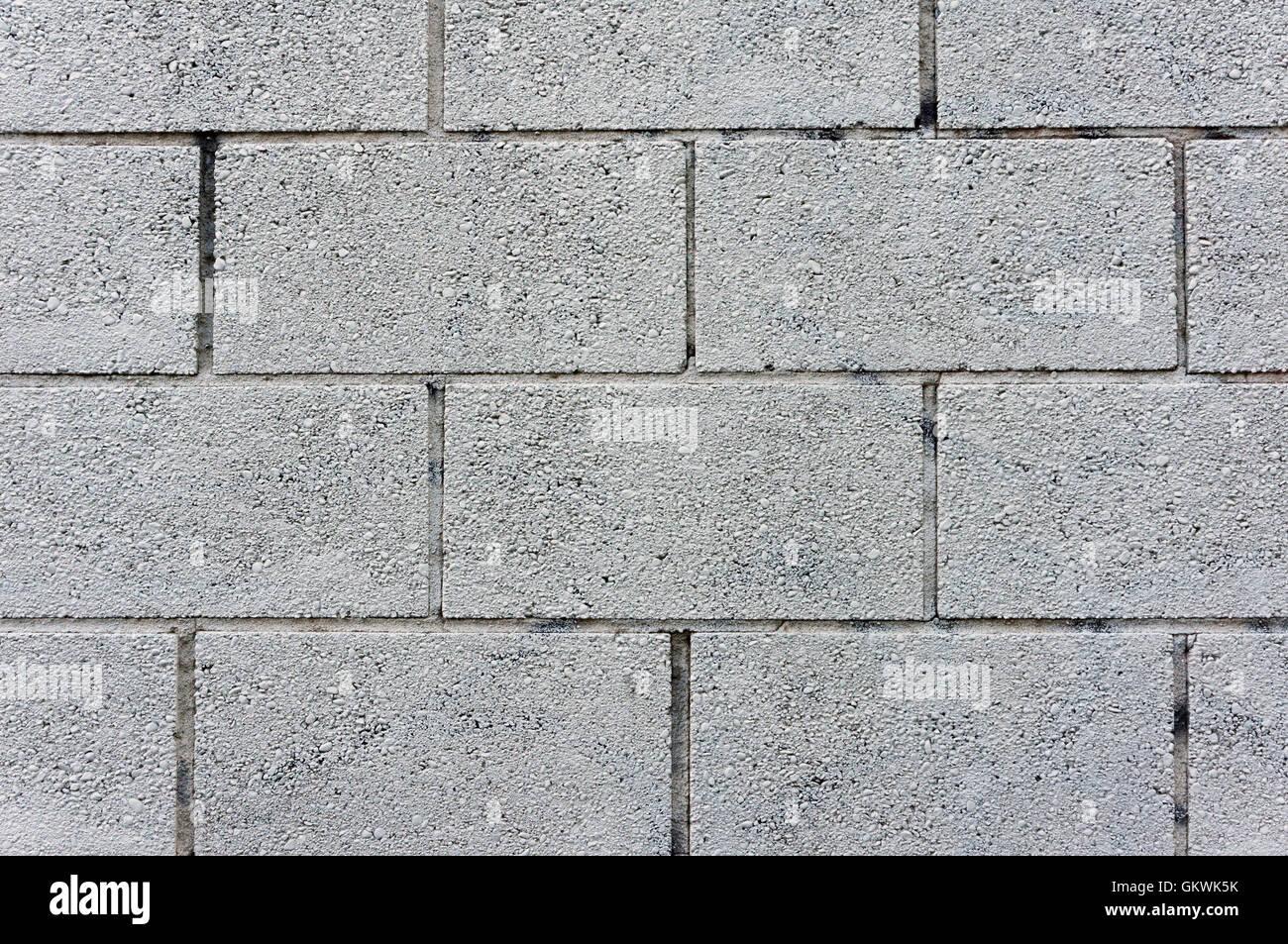 Rectangular concrete block wall background stock photo for Concrete block walls design