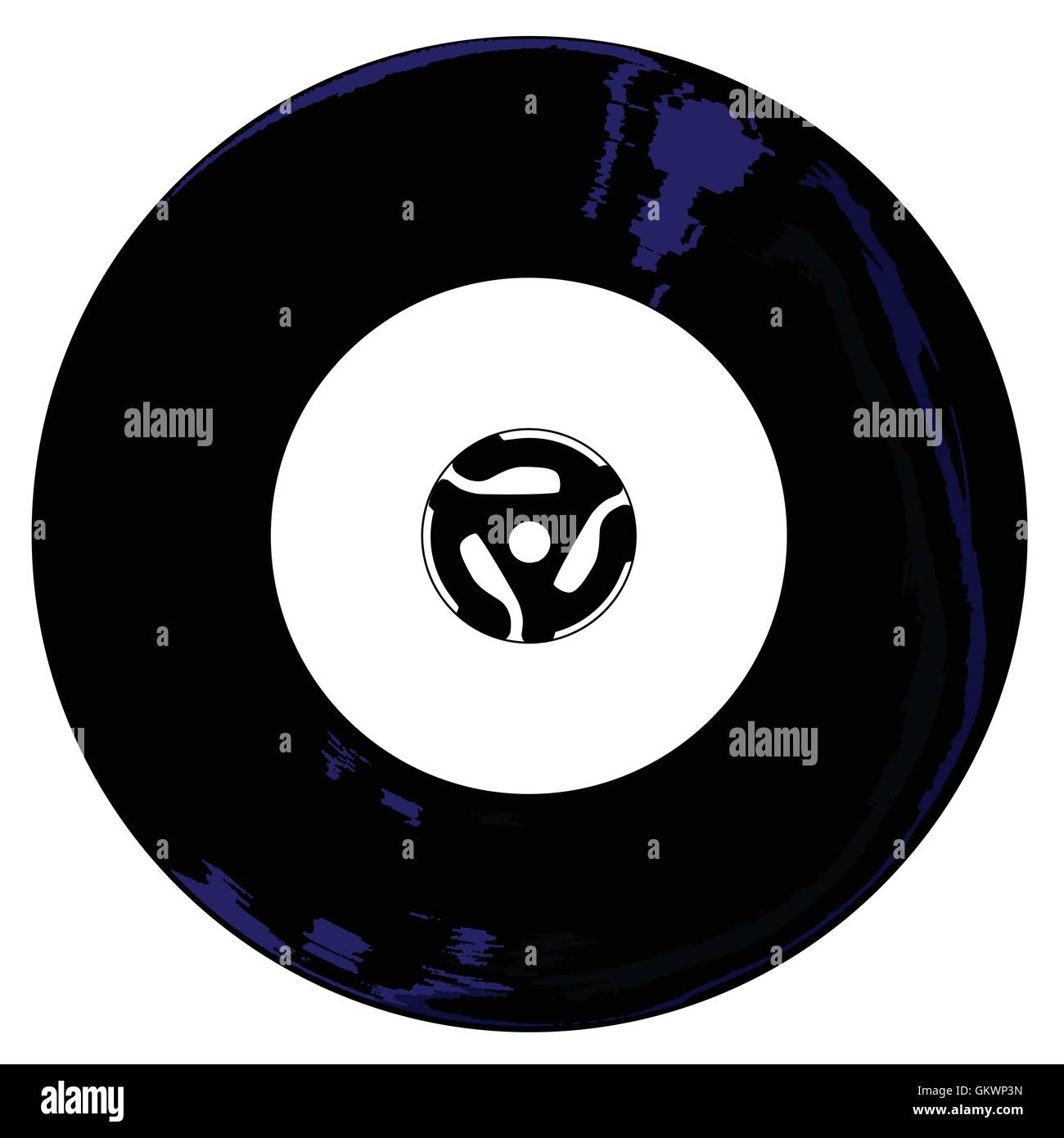 45 RPM - Stock Image
