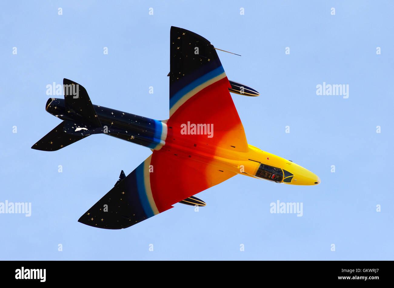 Hawker Hunter Miss Demeanour, Stock Photo