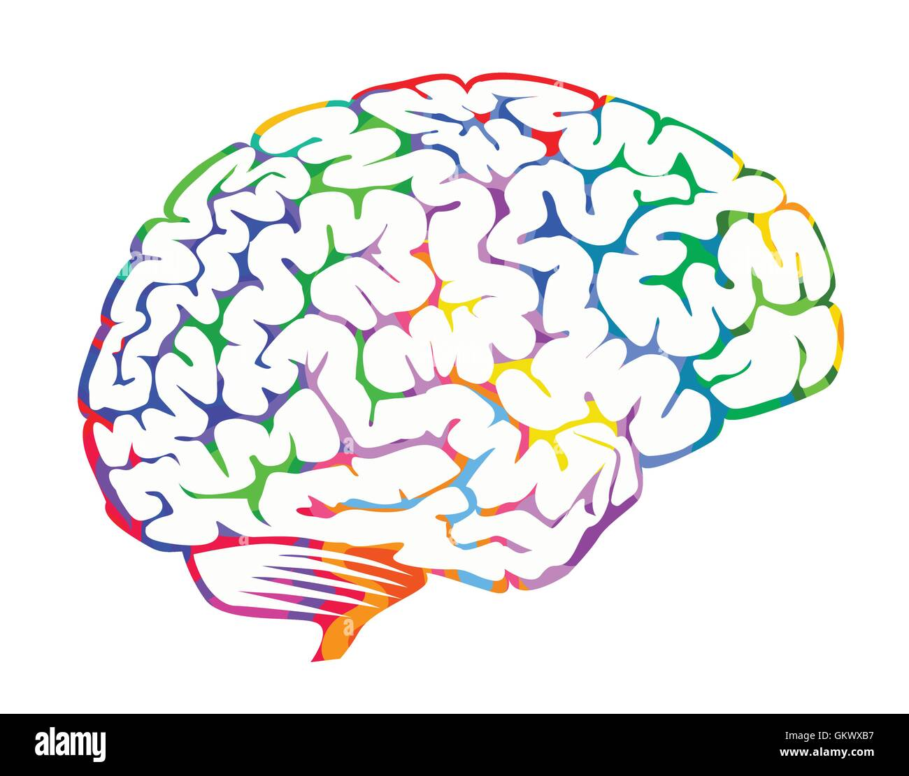 Brainwaves - Stock Image