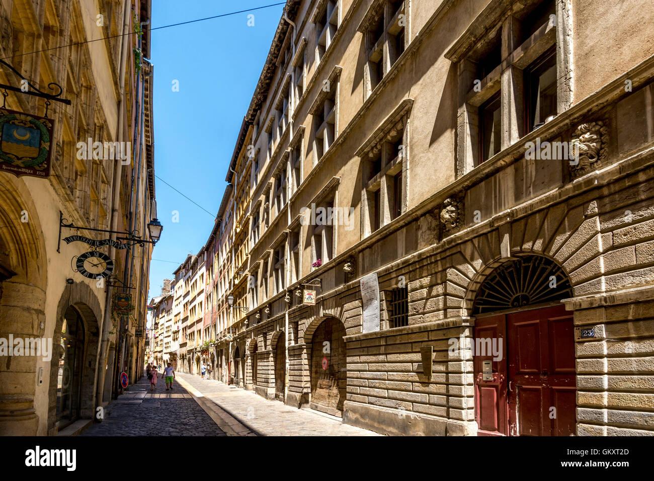 Saint Jean District. Old City Of Lyon.