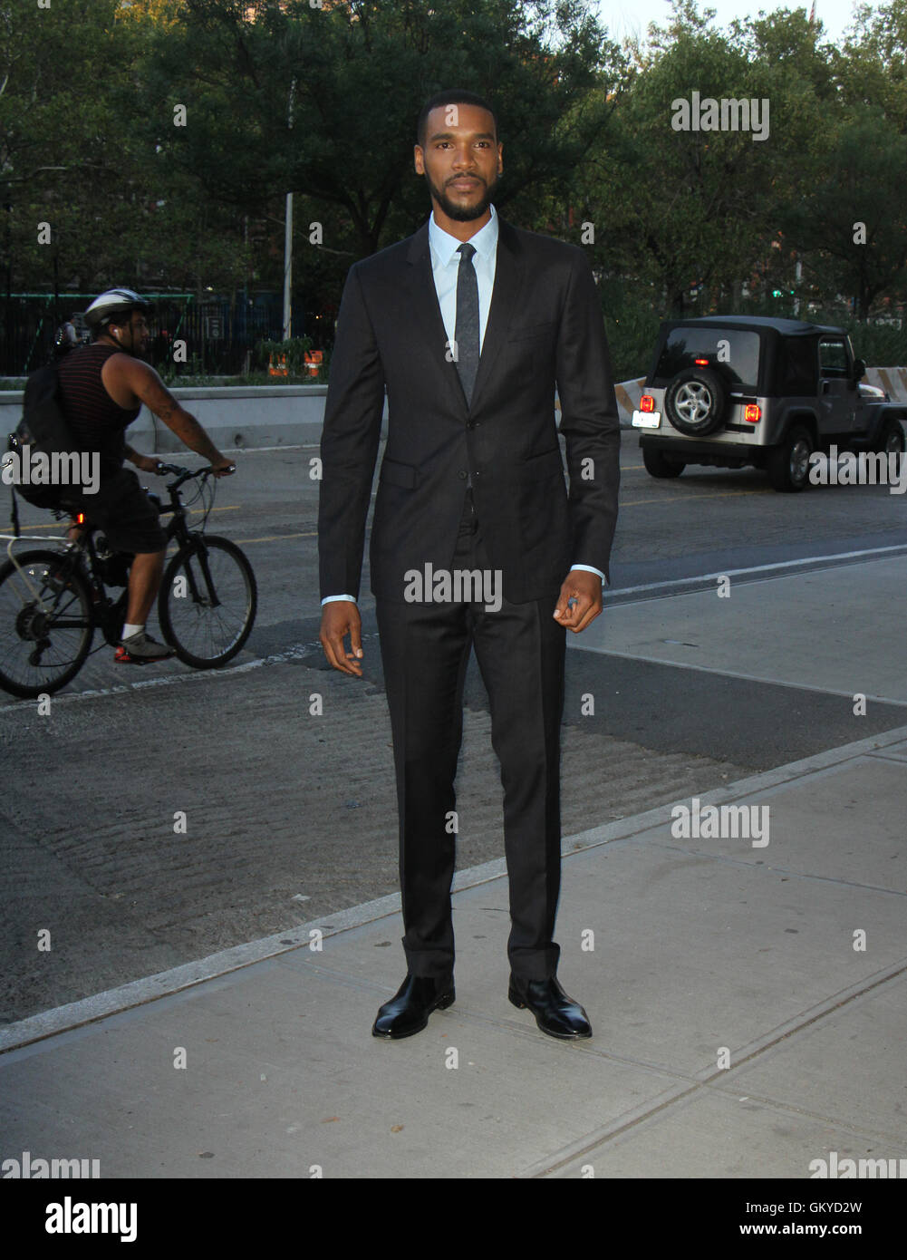 New York, USA. 24th August, 2016. Parker Sawyers at Miramax & Roadside Attraction presents a special screening - Stock Image