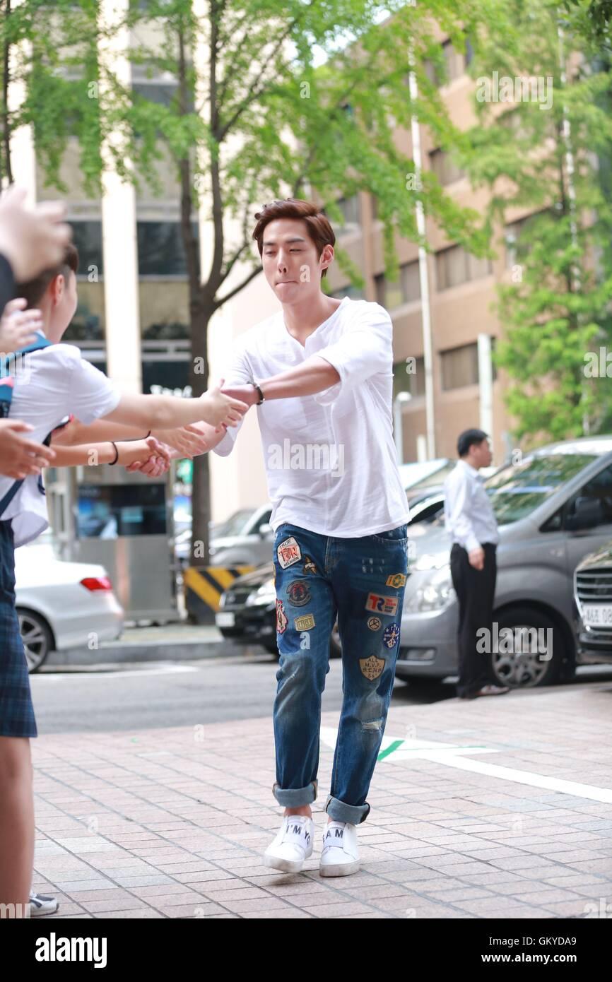 Seoul, Korea  24th Aug, 2016  Kim Rae Won, Park Shin Hye, Yoon Gyun