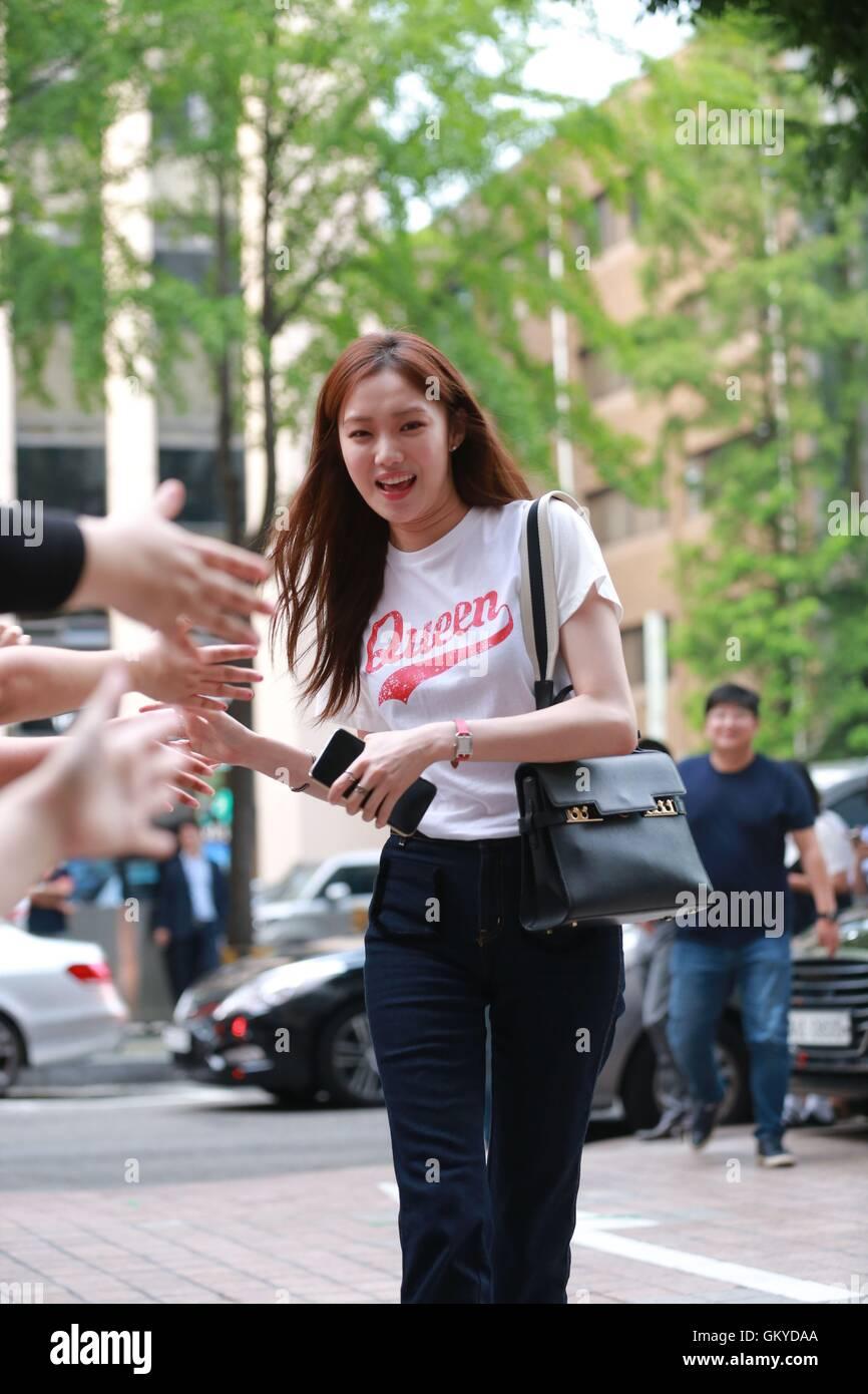 Seoul, Korea  24th Aug, 2016  Kim Rae Won, Park Shin Hye