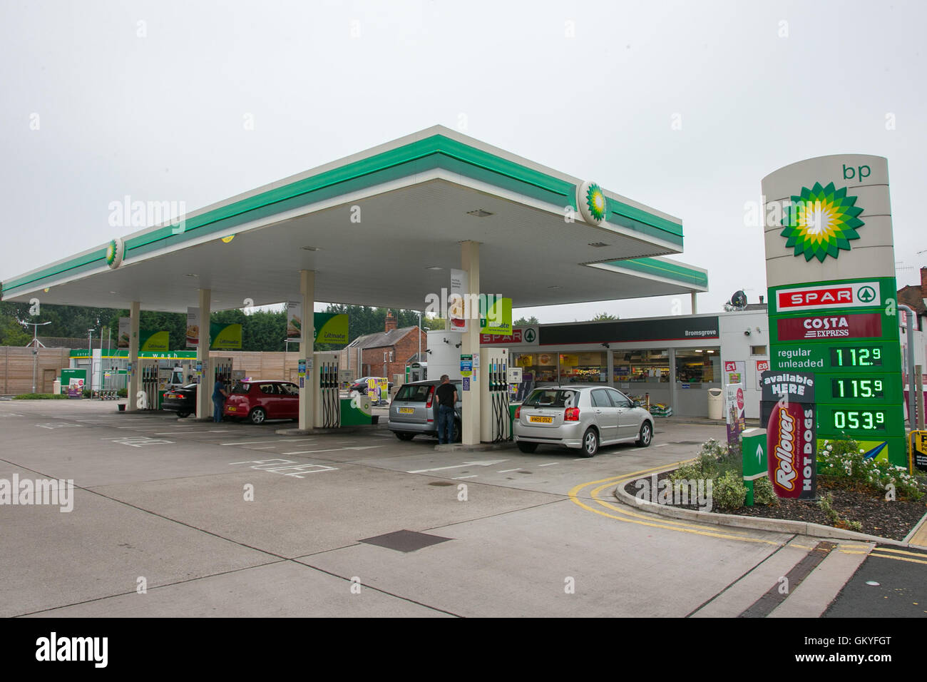 Bp Fuel Station Stock Photos & Bp Fuel Station Stock Images - Alamy