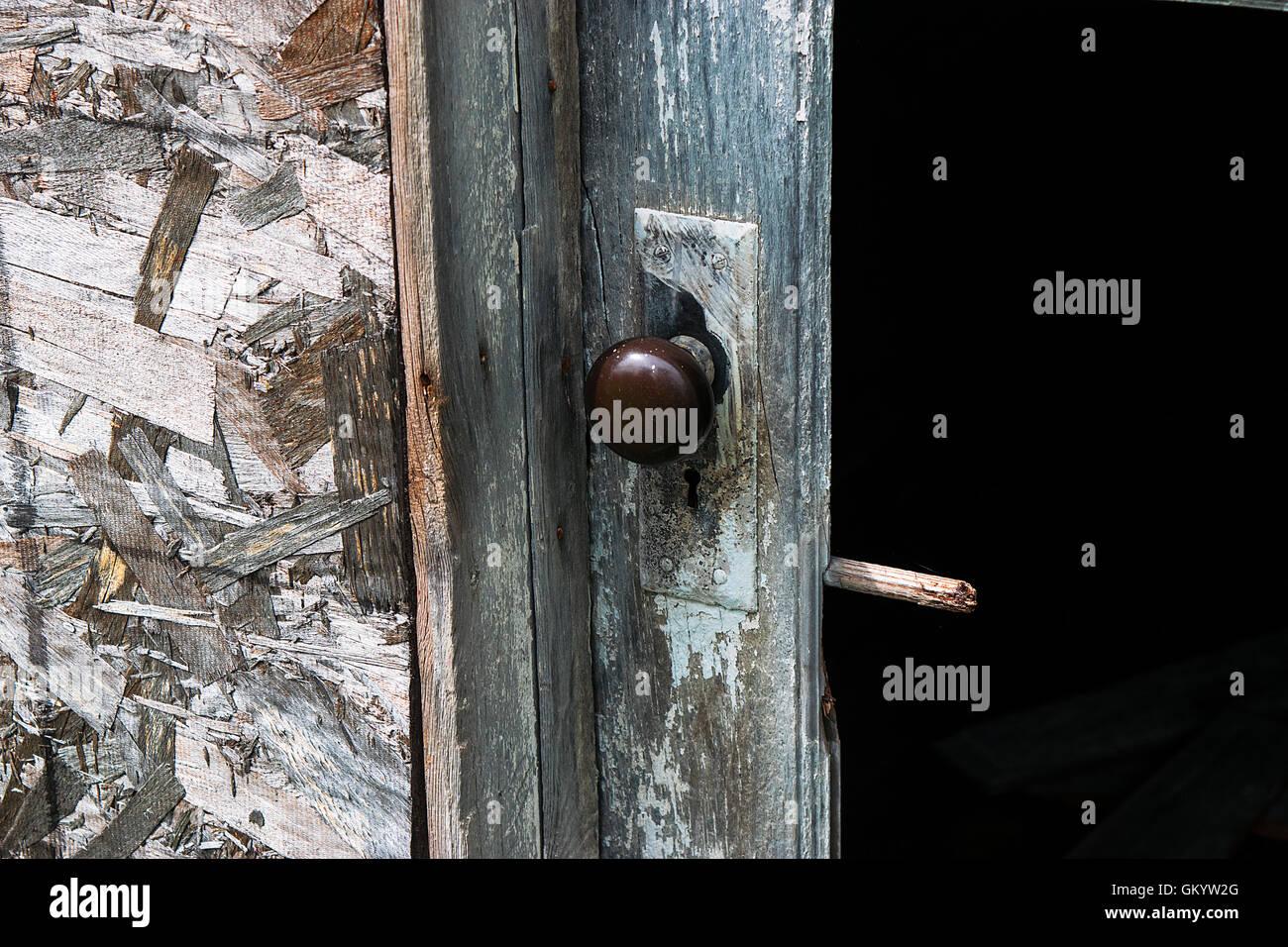 Old door knob - Stock Image