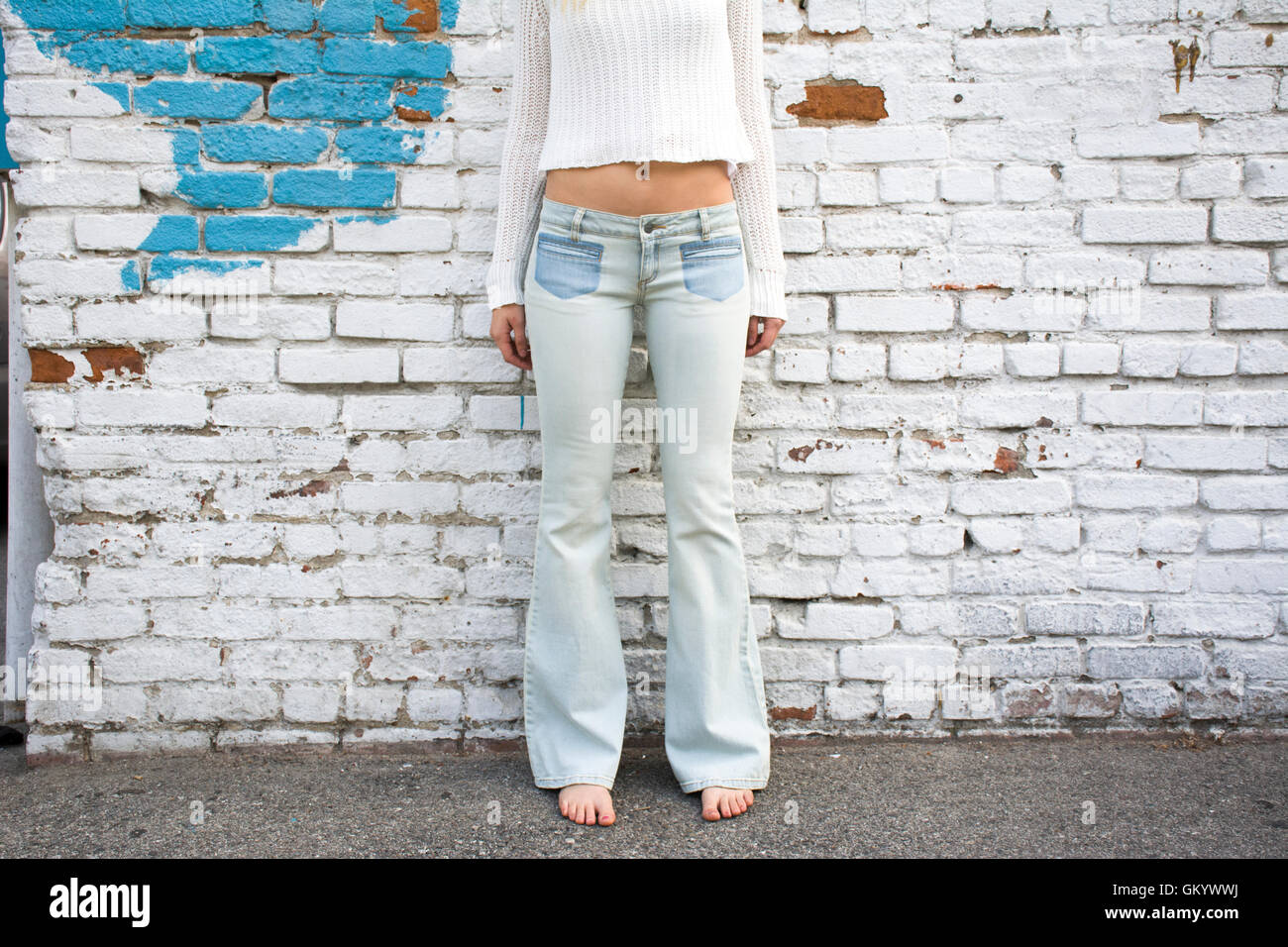 bell-bottoms - Stock Image