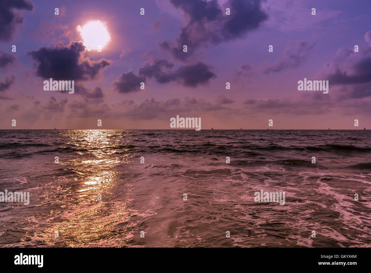 sea, sri lanka, negombo beach Stock Photo