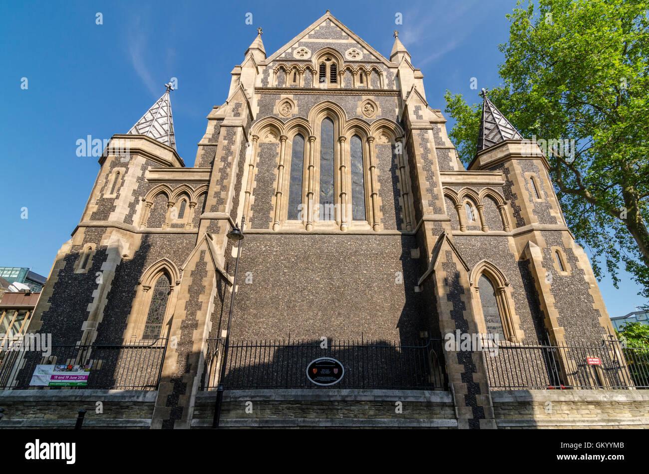 Southwark Cathedral, London, UK - Stock Image