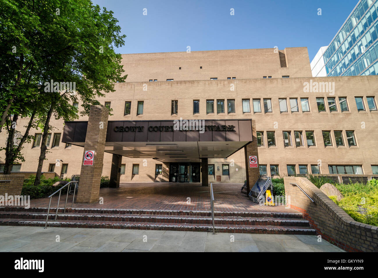Southwark Crown Court, London, UK - Stock Image