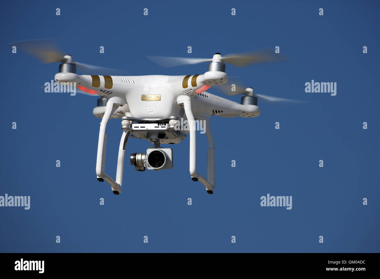 Drone in the sky - Stock Image