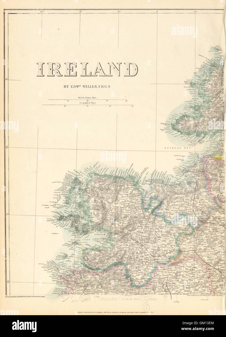Map Of North West Ireland.Ireland North West Mayo Sligo Donegal Connacht Weller Dispatch