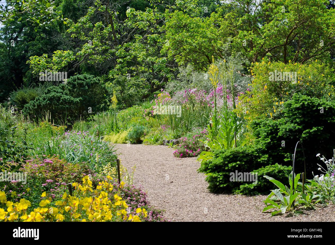 English gardens, UK - Stock Image