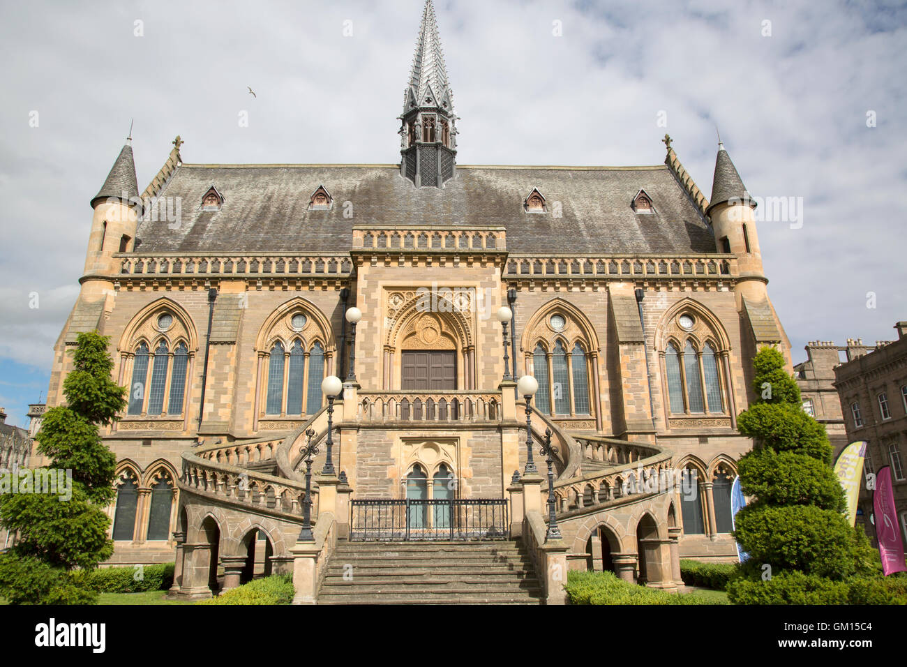 The McManus Art Gallery and Museum, Dundee, Scotland; UK - Stock Image