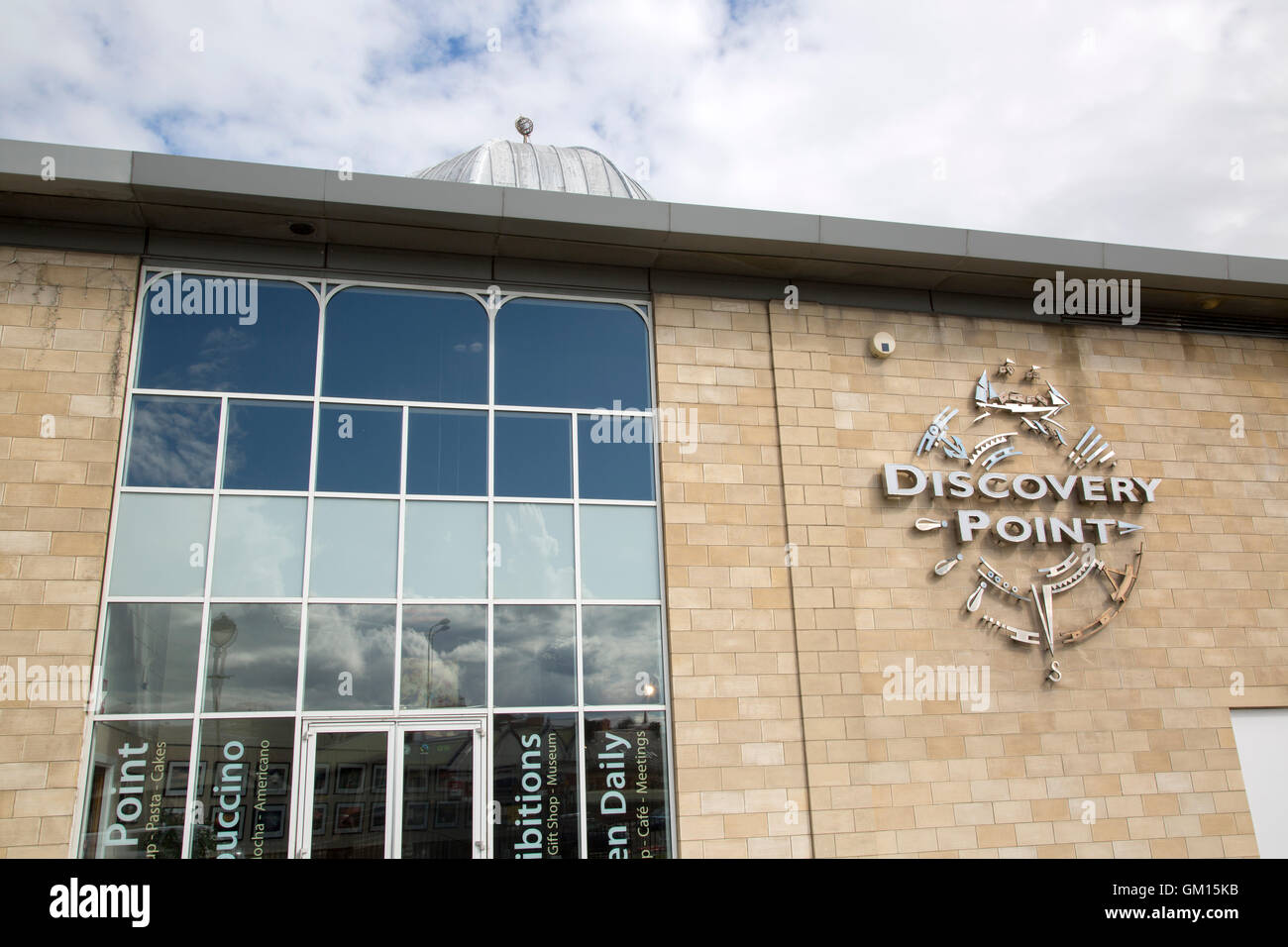 Discovery Point, Dundee; Scotland; UK - Stock Image