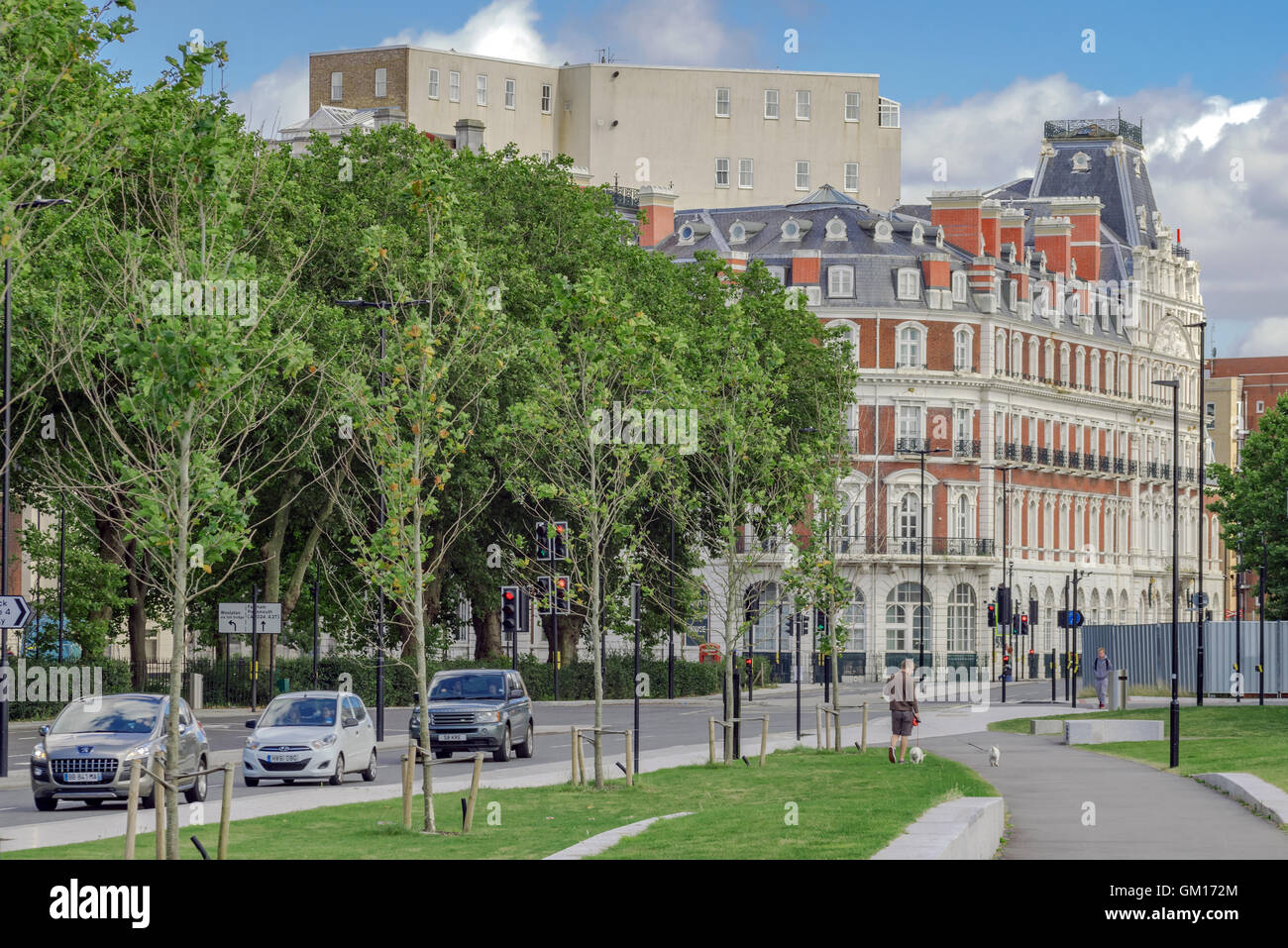 Southampton old town and South Western House - Stock Image