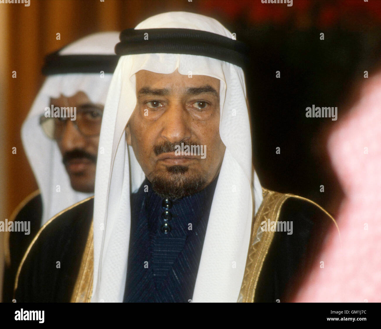 King KHALID of Saudi Arabia 1981 - Stock Image