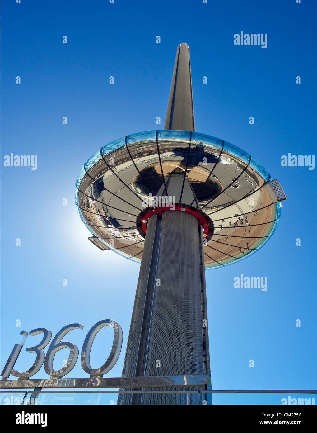 i360 observation tower Brighton. - Stock Image
