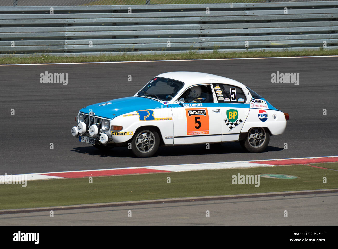 AvD Nuerburgring Oldtimers Grand Prix .Germany 13th and 14th of August 2016. - Stock Image