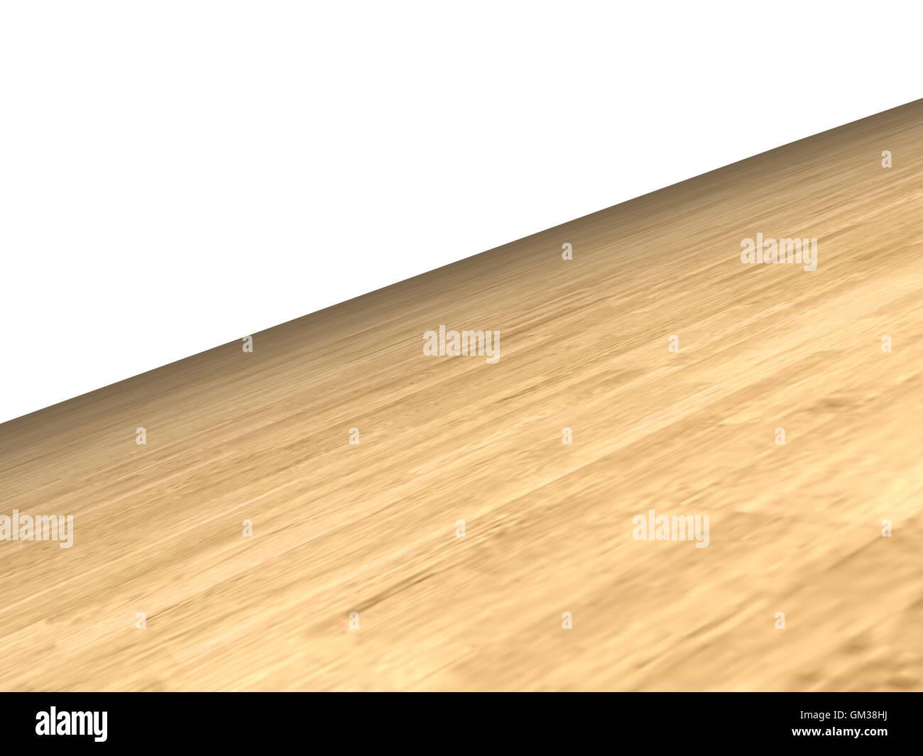 wooden floor - Stock Image
