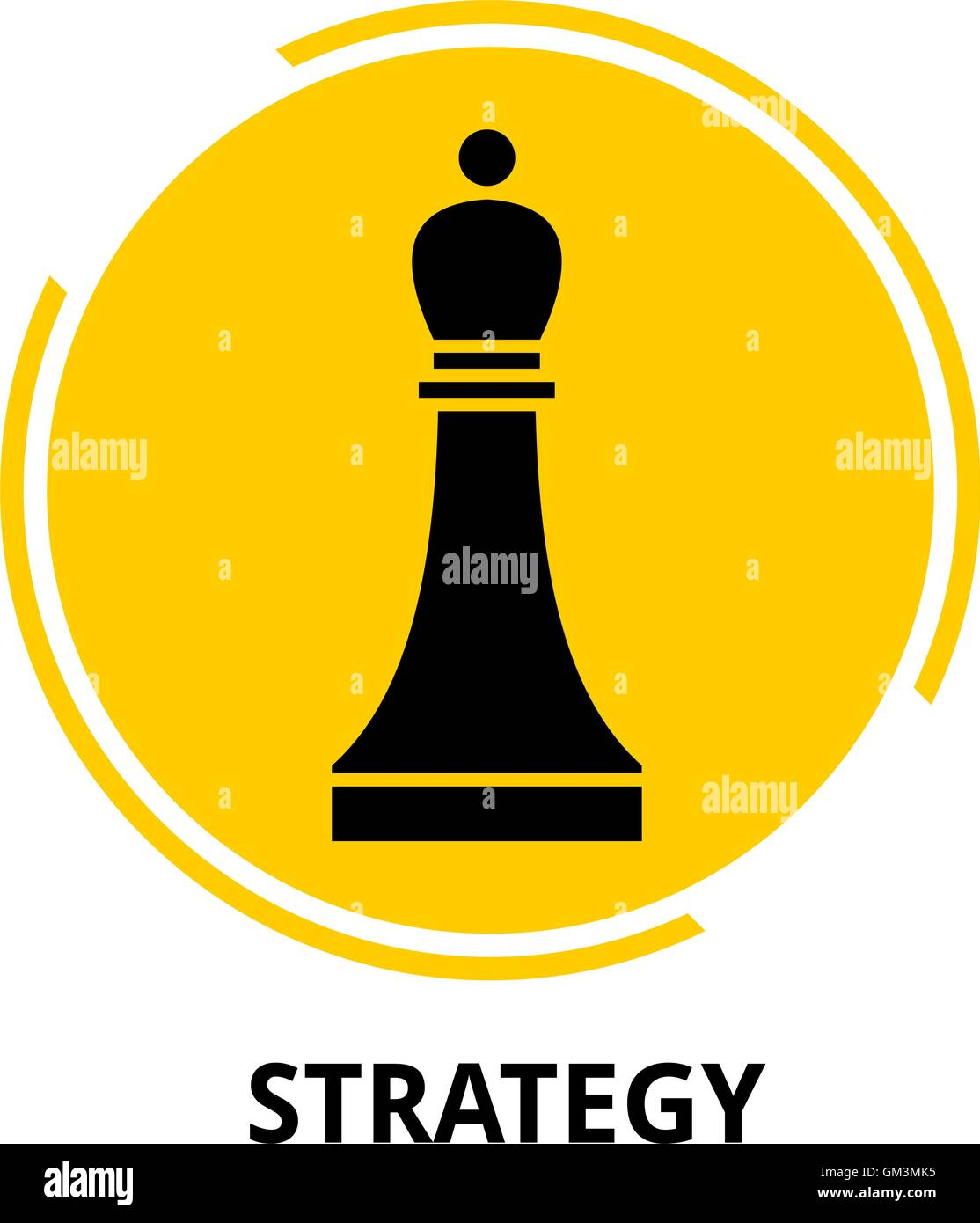 vector - strategy - Stock Image