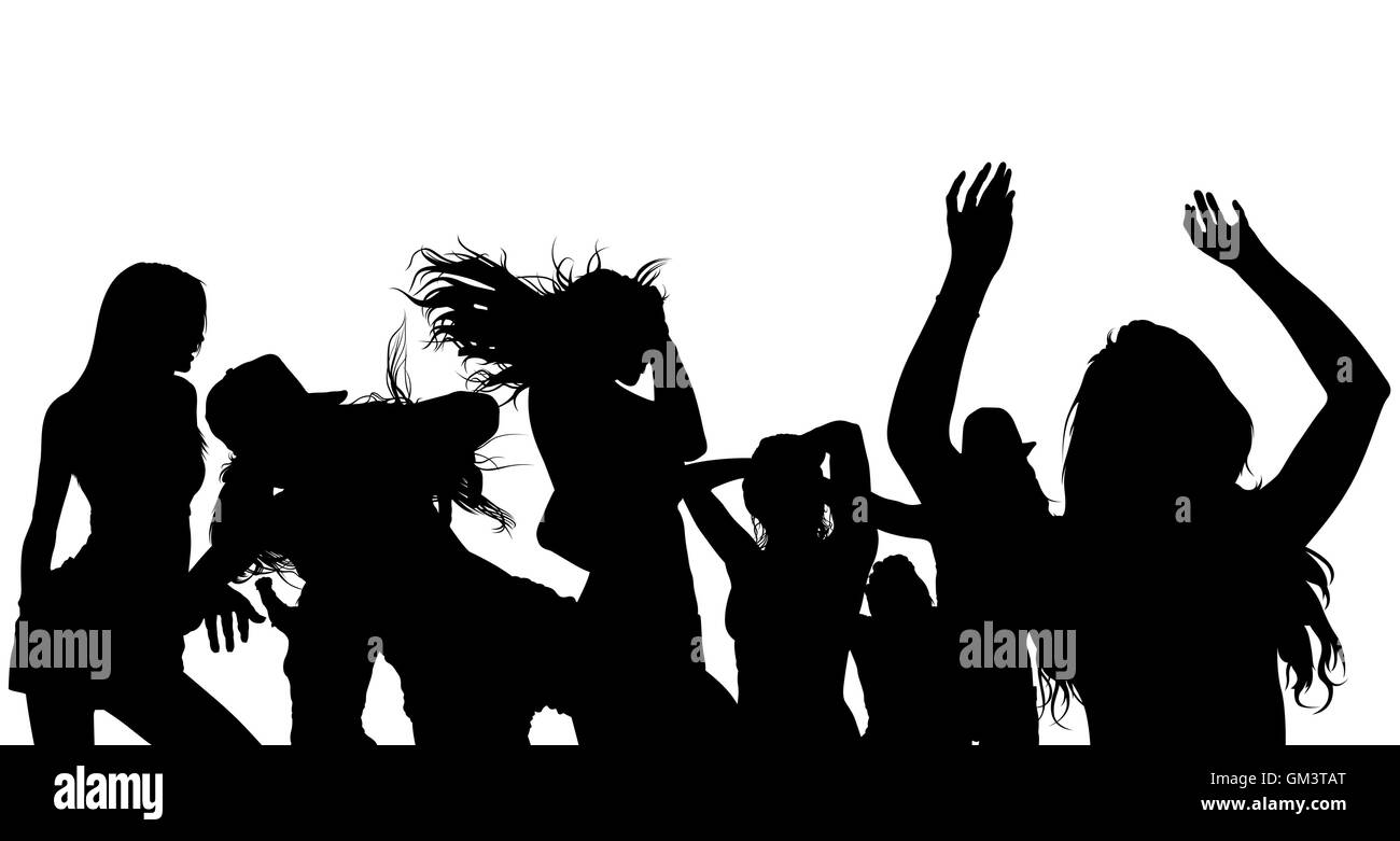 Dancing Crowd Silhouette Stock Vector Image Art Alamy 129 free images of crowd silhouette. https www alamy com stock photo dancing crowd silhouette 115640304 html