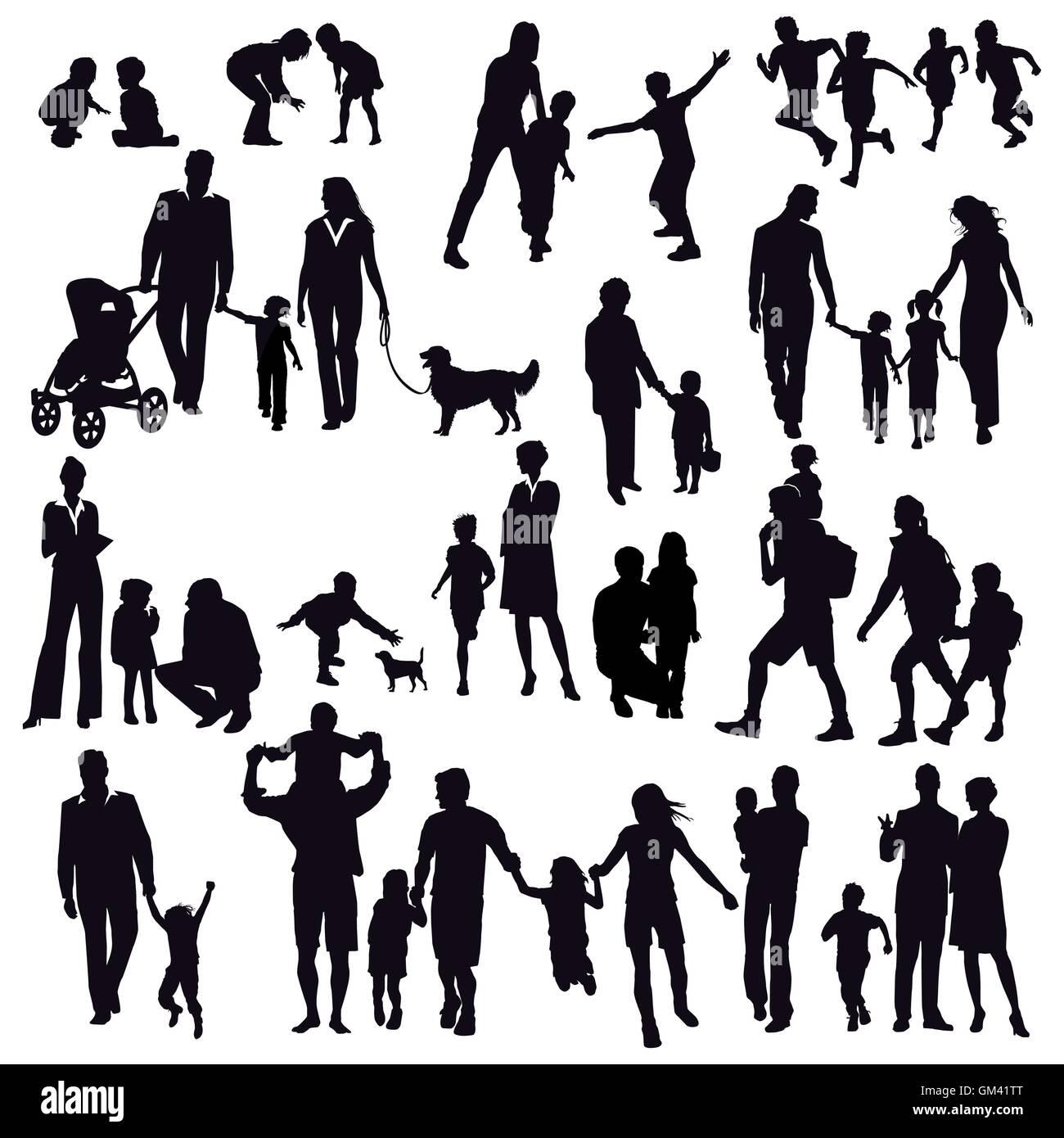 Family life - Stock Image