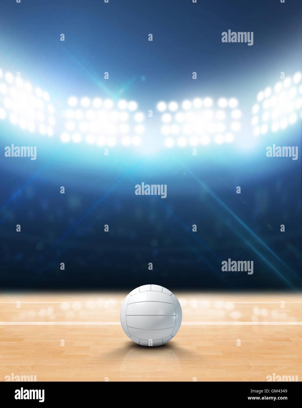 Indoor Volleyball Court Stock Photos & Indoor Volleyball Court Stock ...