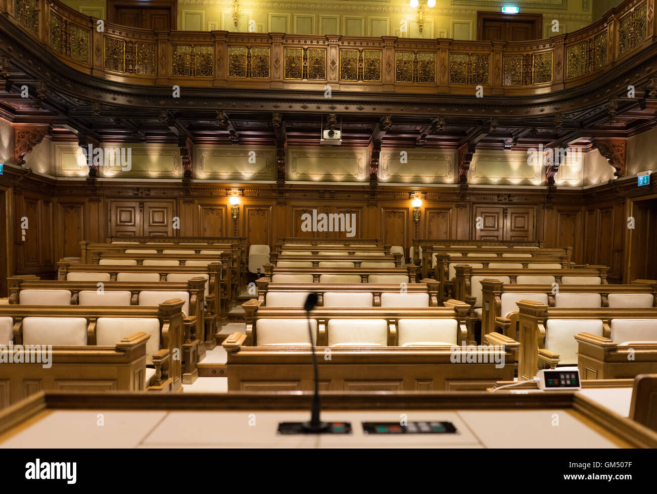 Town Council Hall of Graz - Stock Image
