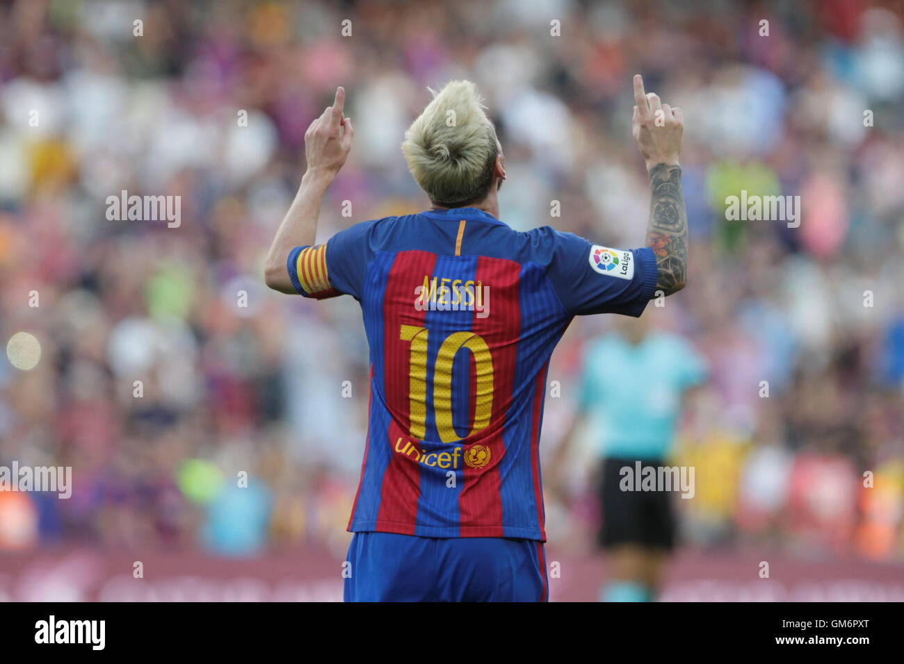 Lionel Messi 2016 Celebration